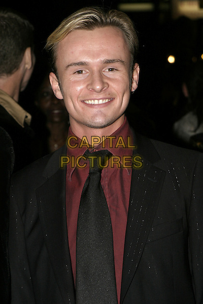 "JOHN (EX-S CLUB 7).""Mary Poppins"" London premiere & press night, .Prince Edward Theatre, London, December 15th 2004..portrait headshot jon.Ref: AH.www.capitalpictures.com.sales@capitalpictures.com.©Capital Pictures."