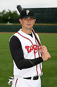 June 17th 2008:  John Tolisano of the Lansing Lugnuts, Class-A affiliate of the Toronto Blue Jays, during the Midwest League All-Star Game at Dow Diamond in Midland, MI.  Photo by:  Mike Janes/Four Seam Images