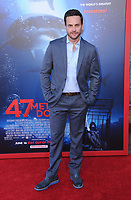 "12 June 2017 - Westwood, California - Chris Johnson. ""47 Meters Down"" Los Angeles Premiere held at Regency Village Theatre in Westwood. Photo Credit: Birdie Thompson/AdMedia"