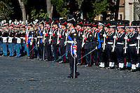 Roma 25 Aprile 2014<br /> Cerimonia  per la Festa della Liberazione  dal nazi fascismo all 'Altare della Patria,<br /> Rome April 25, 2014 <br /> Ceremony for the Liberation Day from Nazi fascism at Altare della Patria (Altar of the Fatherland) in Rome,