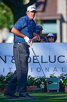 Phil Mickelson (USA) watches his tee shot on 11 during the round 1 of the Dean &amp; Deluca Invitational, at The Colonial, Ft. Worth, Texas, USA. 5/25/2017.<br /> Picture: Golffile | Ken Murray<br /> <br /> <br /> All photo usage must carry mandatory copyright credit (&copy; Golffile | Ken Murray)