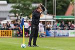 29.07.2017, Heinz-Dettmer-Stadion, Lohne, GER, FSP, SV Werder Bremen vs West Ham United<br /> <br /> im Bild<br /> Slaven Bilic (West Ham Trainer / Head Coach) mit Anweisungen, <br /> <br /> Foto &copy; nordphoto / Ewert