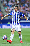 Deportivo Alaves's M. Llorente during the match of La Liga Santander between Atletico de Madrid and Deportivo Alaves at Vicente Calderon Stadium. August 21, 2016. (ALTERPHOTOS/Rodrigo Jimenez)