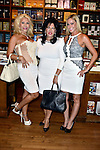 CORAL GABLES, FL - August 17: Baroness Anka Birgu, Author Dr. Carmen Harra and Ann Elizabeth Patrick attend Dr. Harra book signing 'The Karma Queens' Guide to Relationships' at Books and Books-Gables on Monday August 17, 2015 in Voral Gables, Florida.  ( Photo by Johnny Louis / jlnphotography.com )