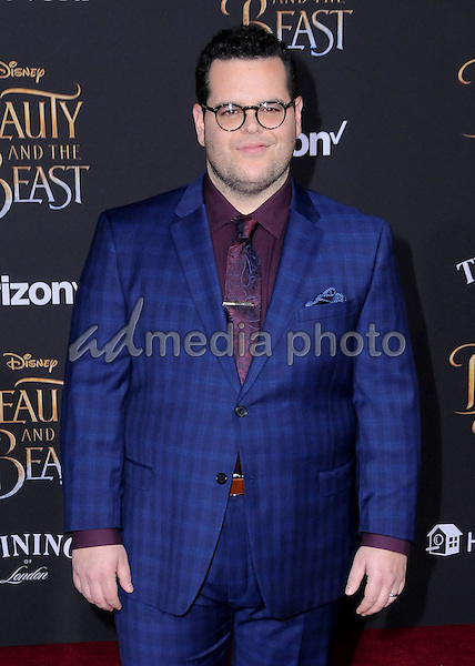 "02 March 2017 - Hollywood, California - Josh Gad. Los Angeles premiere of Disney's ""Beauty and the Beast' held at El Capitan Theatre. Photo Credit: Birdie Thompson/AdMedia"