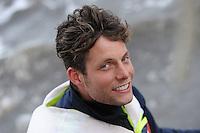 SKÛTSJESILEN: HEERENVEEN: bemanning skûtsje Gerben van Manen, Sytze Brouwer, ©foto Martin de Jong
