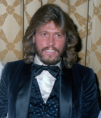 Barry Gibb at the American Music Awards n January 12, 1979<br /> Photo By John Barrett/PHOTOlink /MediaPunch