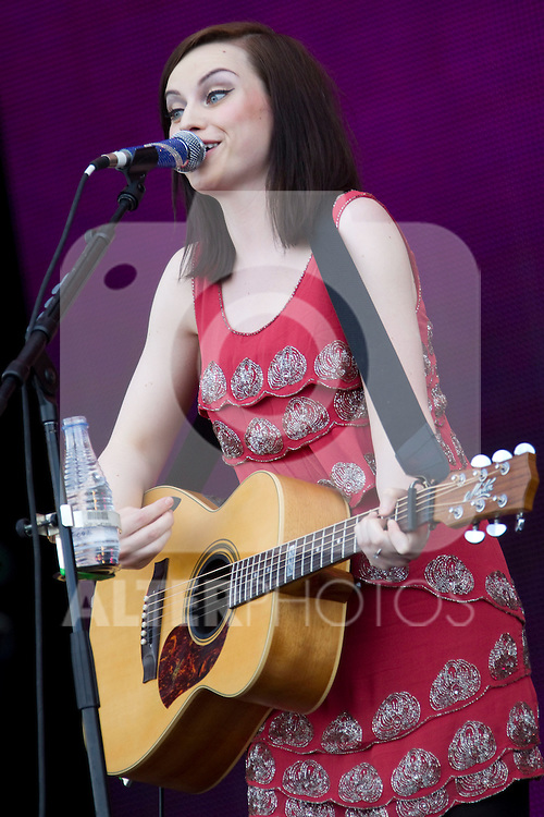 MADRID (06/06/2010).- Amy Macdonald performs during concert at Rock in Rio in Madrid. ..Photo: Cesar Cebolla / ALFAQUI