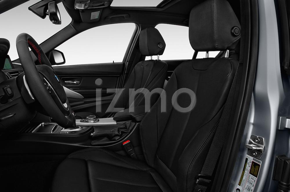 Front seat view of 2017 BMW 3-Series 330e-iPerformance 4 Door Sedan Front Seat  car photos