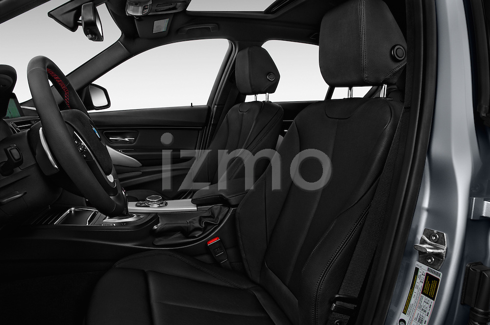 Front seat view of 2018 BMW 3-Series 330e-iPerformance 4 Door Sedan Front Seat  car photos