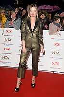 Laura Whitmore<br /> arriving for the National TV Awards 2019 at the O2 Arena, London<br /> <br /> ©Ash Knotek  D3473  22/01/2019