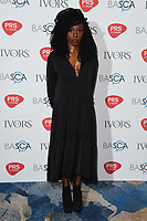 Laura Mvula arriving for the Ivor Novello Awards 2018 at the Grosvenor House Hotel, London, UK. <br /> 31 May  2018<br /> Picture: Steve Vas/Featureflash/SilverHub 0208 004 5359 sales@silverhubmedia.com