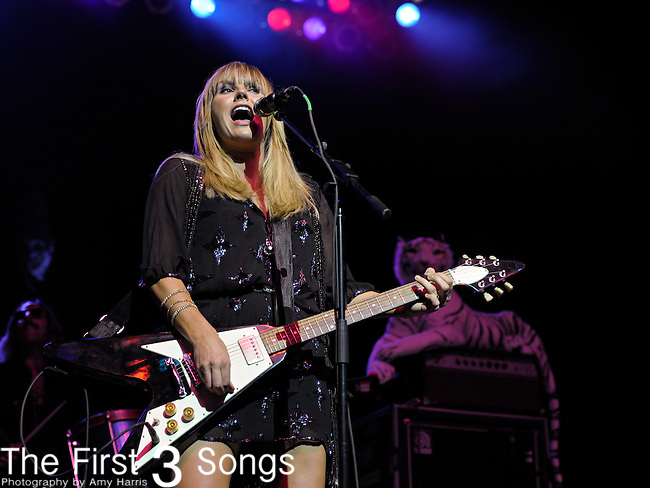 Grace Potter of Grace Potter and the Nocturnals performs on July 29, 2011 at PNC Pavilion at Riverbend Music Center in Cincinnati, Ohio.