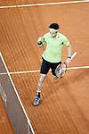 Kai Nishikori, Japan, during Madrid Open Tennis 2016 Semifinal match.May, 7, 2016.(ALTERPHOTOS/Acero)a