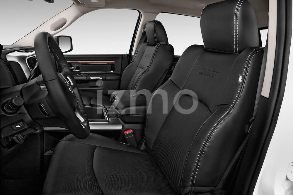 Front seat view of a 2017 Ram 2500 Laramie Mega Cab 4 Door Truck Front Seat car photos