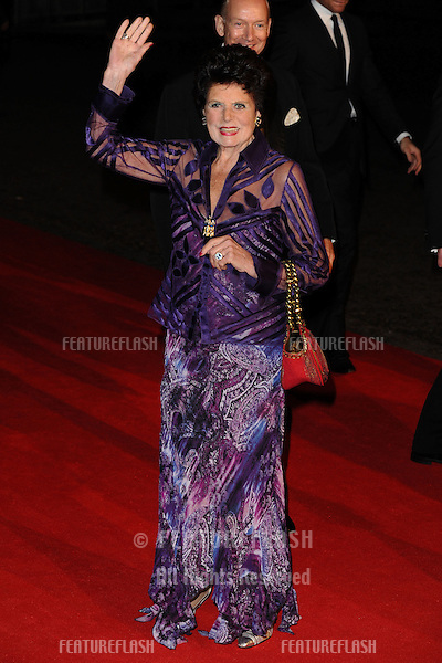 "Eunice Gayson arriving for the ""Skyfall"" world premiere after party at the Tate Modern, London. 23/10/2012 Picture by: Steve Vas / Featureflash"