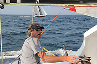 Atlantic Cup 2016 onboard the Class 40 Amhas