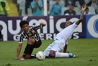 Santos SP, 19 maio 2013 - SANTOS X CORINTHIANS  Lance com Romarinho    durante partida da final do campeonato paulista de 2013  no Estadio da Vila Belmiro em Santos, Litoral de  de Sao Paulo, neste domingo , 19. (FOTO: ALAN MORICI / BRAZIL PHOTO PRESS).