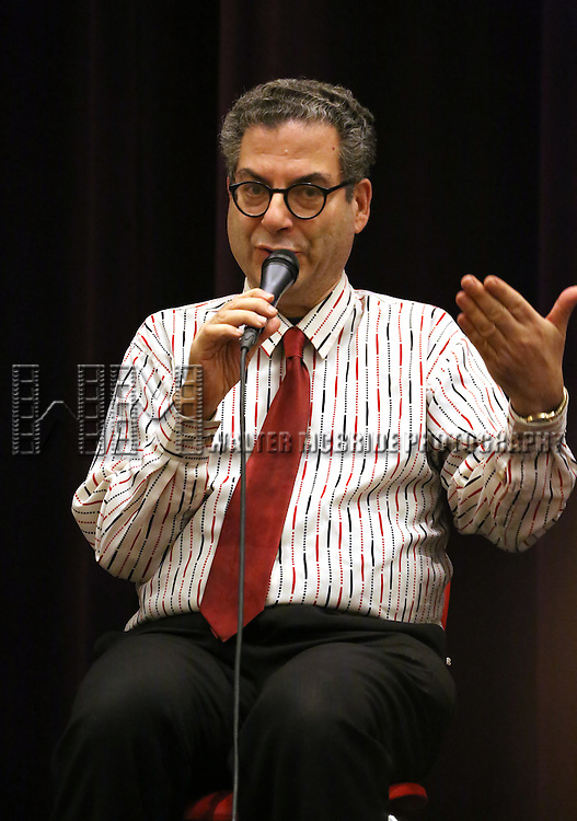 Michael Musto attends 'The View Upstairs' sneak preview and panel discussion at The LGBT Community Center on February 1, 2017 in New York City.