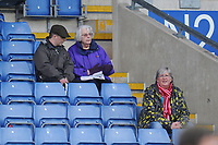 Fleetwood Town fans enjoy the pre-match atmosphere <br /> <br /> Photographer Kevin Barnes/CameraSport<br /> <br /> The EFL Sky Bet League One - Oxford United v Fleetwood Town - Tuesday 10th April 2018 - Kassam Stadium - Oxford<br /> <br /> World Copyright &copy; 2018 CameraSport. All rights reserved. 43 Linden Ave. Countesthorpe. Leicester. England. LE8 5PG - Tel: +44 (0) 116 277 4147 - admin@camerasport.com - www.camerasport.com