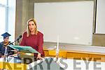 Vicky Phelan guest speaker at the Nurses Unit in the Sólás Building in the I T Tralee on Friday after their graduation