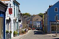 The A487, Fishguard, Pembrokeshire, Wales, UK
