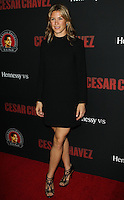 "HOLLYWOOD, LOS ANGELES, CA, USA - MARCH 20: Jessica Lindsey at the Los Angeles Premiere Of Pantelion Films And Participant Media's ""Cesar Chavez"" held at TCL Chinese Theatre on March 20, 2014 in Hollywood, Los Angeles, California, United States. (Photo by Celebrity Monitor)"