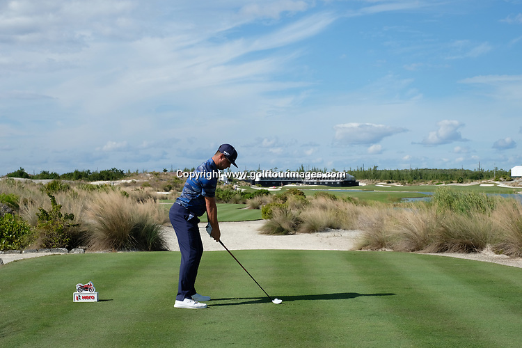 Gary Woodland during the second round of the 2018 Hero World Challenge being played at The Albany Resort, Bahamas.<br />  Picture Stuart Adams, www.golftourimages.com: \30/11/2018\