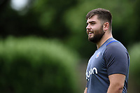 Will Vaughan of Bath Rugby looks on. Bath Rugby pre-season S&C session on June 22, 2017 at Farleigh House in Bath, England. Photo by: Patrick Khachfe / Onside Images
