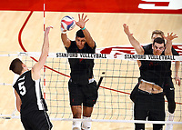 STANFORD, CA; March 29, 2018; Men's Volleyball, Stanford vs Grand Canyon.