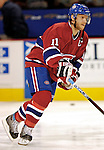 16 January 2007: Montreal Canadiens center and team captain Saku Koivu (11) of Finland warms up prior to facing the Vancouver Canucks at the Bell Centre in Montreal, Canada. The Canucks defeated the Canadiens 4-0.Mandatory Credit: Ed Wolfstein Photo *** Editorial Sales through Icon Sports Media *** www.iconsportsmedia.com