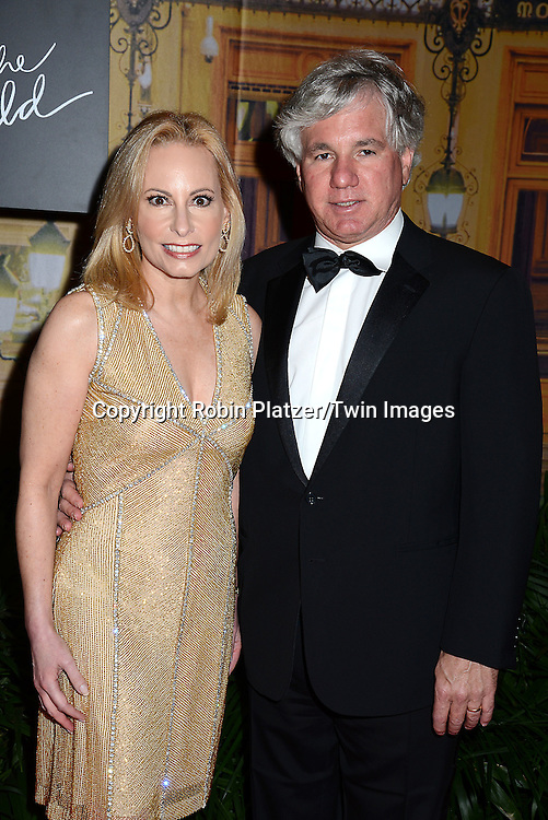 Gillian Miniter and husband Sylvester Miniter attends the New Yorkers for Children's Fall Gala on September 16, 2015 at Cipriani 42nd Street in New York City, New York, USA.<br /> <br /> photo by Robin Platzer/Twin Images<br />  <br /> phone number 212-935-0770