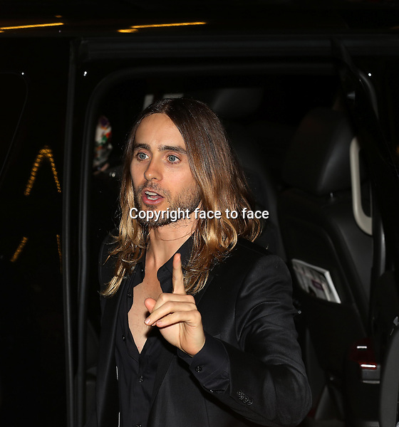 Jared Leto attending the 2013 Tiff Film Festival Red Carpet Gala for &quot;Dallas Buyers Club&quot; at The Princess of Wales Theatre on September 7, 2013 in Toronto, Canada.<br /> Credit: McBride/face to face