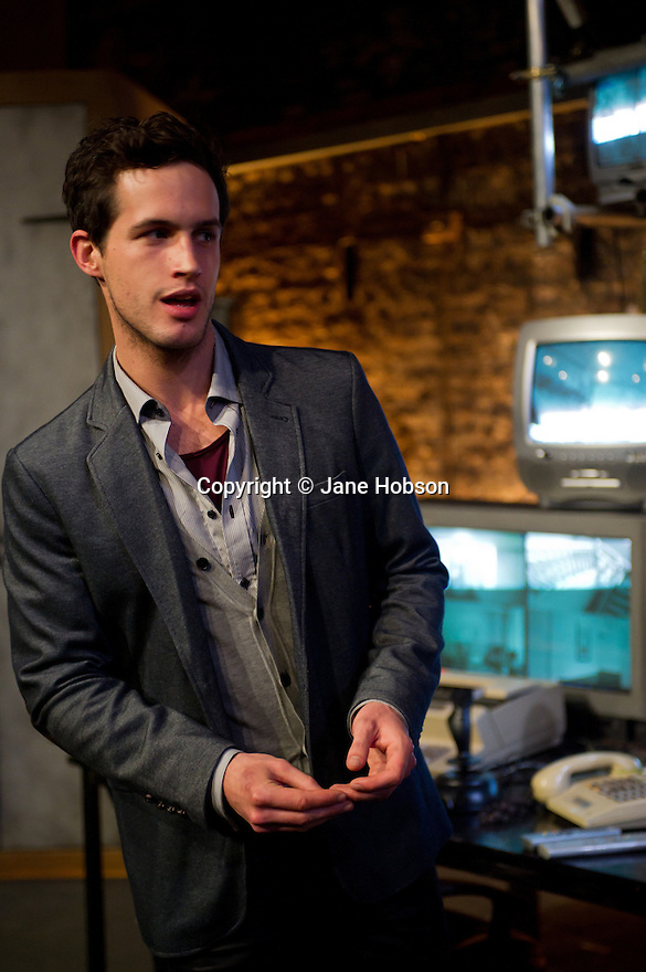 "London, UK. 03/11/2011. ""The Changeling"" opens at the Southwark Playhouse. Picture shows Rob Heaps as Alsemero. Photo credit: Jane Hobson"