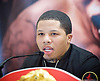Floyd Mayweather Jr &amp; Frank Warren press conference at The Savoy Hotel, London, Great Britain <br /> 7th March 2017 <br /> <br /> <br /> Gervonta Davis <br /> (an American professional boxer who has held the IBF junior lightweight title since January 2017)<br /> <br /> <br /> <br /> Photograph by Elliott Franks <br /> Image licensed to Elliott Franks Photography Services