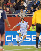 Colorado Rapids defender Brandon Prideaux (6). The New England Revolution defeated the Colorado Rapids, 1-0, at Gillette Stadium in Foxboro, MA on September 29, 2007.