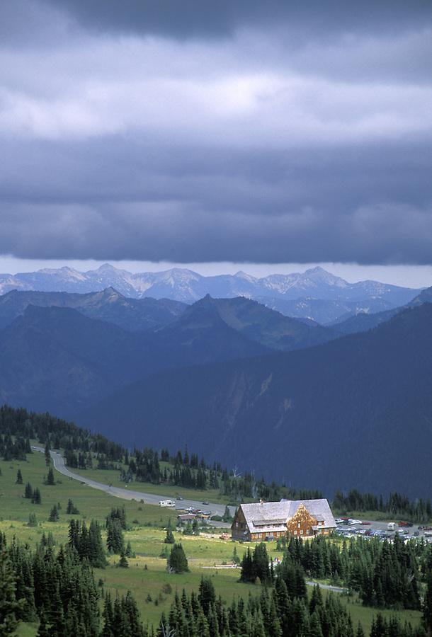 Sunrise Lodge, Summerland, Mount Rainier National Park, Washington