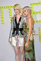 Emma Stone, Andrea Riseborough at the premiere for &quot;Battle of the Sexes&quot; at the Regency Village Theatre, Westwood, Los Angeles, USA 16 September  2017<br /> Picture: Paul Smith/Featureflash/SilverHub 0208 004 5359 sales@silverhubmedia.com