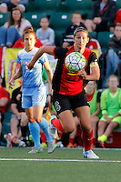 Rochester, NY - Friday July 01, 2016: Western New York Flash midfielder Abby Erceg (6) during a regular season National Women's Soccer League (NWSL) match between the Western New York Flash and the Chicago Red Stars at Rochester Rhinos Stadium.