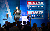 Picture by Allan McKenzie/SWpix.com - 25/09/2018 - Rugby League - Betfred Championship & League 1 Awards Dinner 2018 - The Principal Manchester- Manchester, England - Ralph Rimmer.