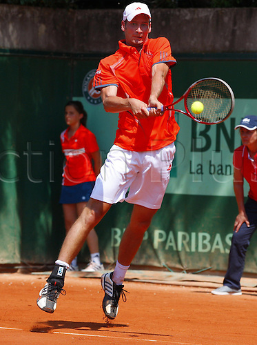 29.05.2012. Roland Garros Paris France.   French Open  ITF Grand Slam Tennis Tournament Florian Mayer ger