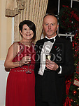 Paul and Michelle Clinton at the Heart Children Ireland Gala Ball in Darver Castle. Photo:Colin Bell/pressphotos.ie
