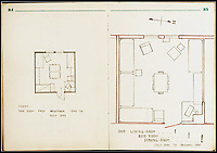 "BNPS.co.uk (01202 558833)<br /> Pic:   LionHeartAutographs/BNPS<br /> <br /> The diary contains pencil drawings of Gueuffen's Block 109's 24 rooms (drawn to scale) whose residents were instrumental in preparing for the ""Great Escape.<br /> <br /> A remarkable diary kept by a POW in the Great Escape camp which includes a tribute to the 50 men executed in its reprisals has come to light.<br /> <br /> British RAF officer Joseph Gueuffen, of 609 Squadron, was shot down during a bombing raid over Germany and held captive at Stalag Luft III from late 1943 until the end of the war.<br /> <br /> The Belgian born pilot was kept in Block 109, a barrack which played an integral part in the mass escape of prisoners on March 24, 1944.<br /> <br /> The diary boasts a list of the officers executed by the Nazis following their recapture and a drawing of the permanent memorial for them by Belgian RAF pilot Bobby Laumans."