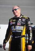 May 2, 2008; Richmond, VA, USA; NASCAR Sprint Cup Series driver Mark Martin during qualifying for the Dan Lowry 400 at the Richmond International Raceway. Mandatory Credit: Mark J. Rebilas-US PRESSWIRE
