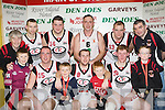St Marys (3) who defeated St mary's (2) in the Division 1 Mens final front row l-r: donnacha Daly, maurice Casey, Sean Teahan, Declan Wall, Ryan Daly, Eamon John O'Donoghue, Darragh Broderick. Back row: Vincent Casey, Neilus Lyons, Niall Murphy, John Teahan, Michael Broderick and Liam Brosnan