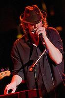 Matt Hubard on Harp and Keyboard. 7 Walkers in Concert in The Wolfs Den at Mohegan Sun Casino on December 9, 2010