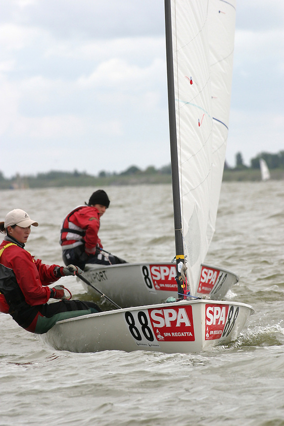 20th SPA Regatta - Medemblik.26-30 May 2004..Copyright free image for editorial use. Please credit Peter Bentley..Juying Zhou - CHN