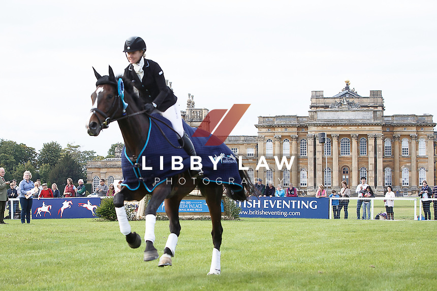2015 TITLE WINNER: NZL-Jonelle Price (CLOUD DANCER) FINAL-1ST: CIC3* PRIZEGIVING: 2015 GBR-Blenheim Palace International Horse Trial (Sunday 20 September) CREDIT: Libby Law COPYRIGHT: LIBBY LAW PHOTOGRAPHY