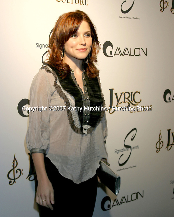 Sophia Bush.Lyric Culture Launch Party Fashion Show.Avalon.Los Angeles, CA.May 10, 2007.©2007 Kathy Hutchins / Hutchins Photo....