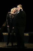 10 April 2019 - Las Vegas, NV - Cast of Chicago, Christie brinkley. Christie Brinkley stars as Roxie Hart in the musical Chicago at The Venetian Resort Las Vegas. <br /> CAP/ADM/MJT<br /> © MJT/ADM/Capital Pictures